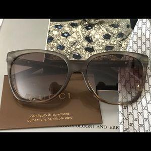 Beautiful real Gucci sun glasses 3502 R4ENE